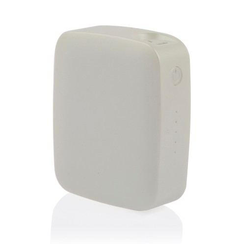 White Mini Magic Power Bank