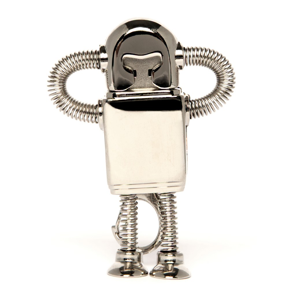 CLEARANCE/COSMETIC DAMAGE 8GB Silver Bendy Robot
