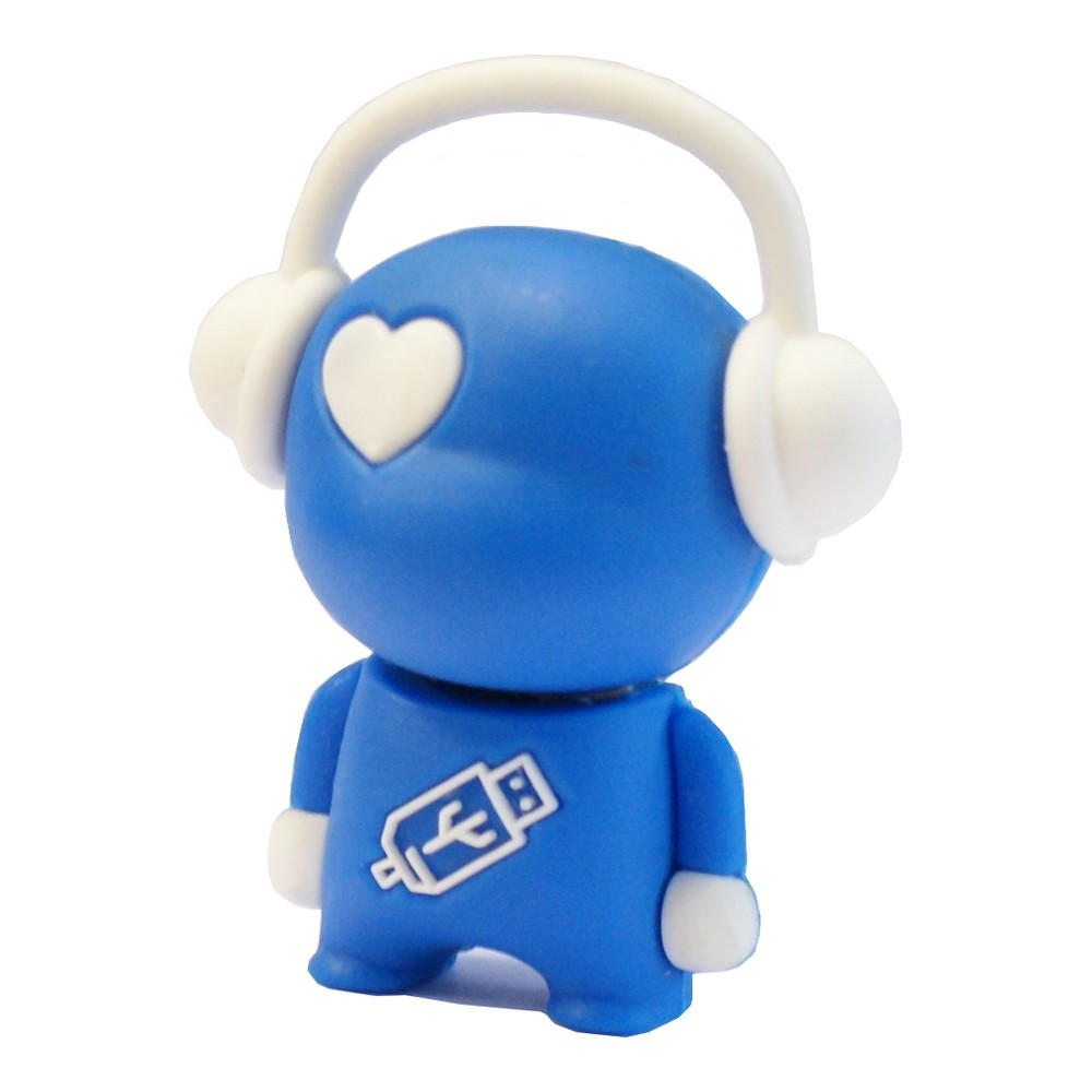 Walker Music Man USB Flash Drive - Blue
