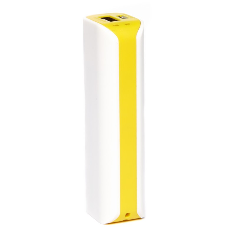 Yellow Lozenge Powerbank - 2600mAh