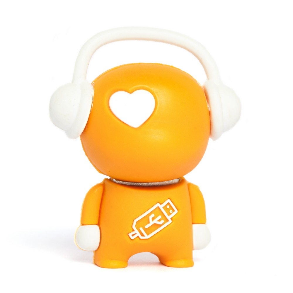 Walker Music Man USB Flash Drive - Orange