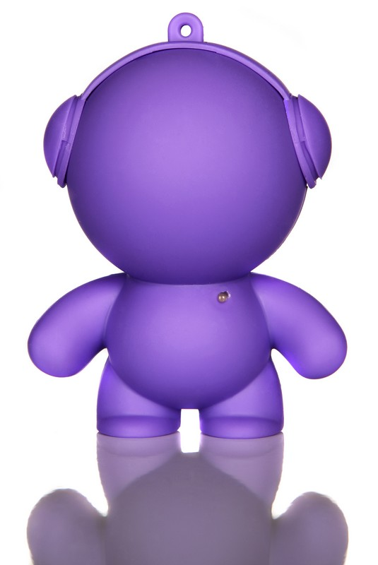 Purple Music Monster.