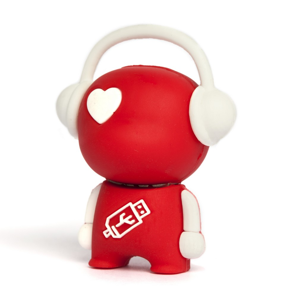 Walker Music Man USB Flash Drive - Red