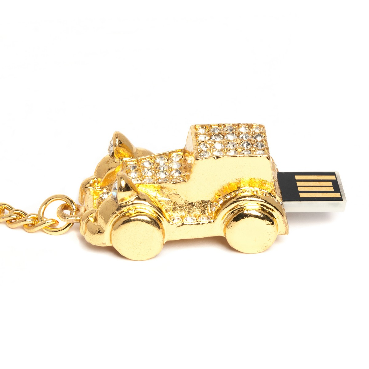 Sparkly Car USB Flash Drive