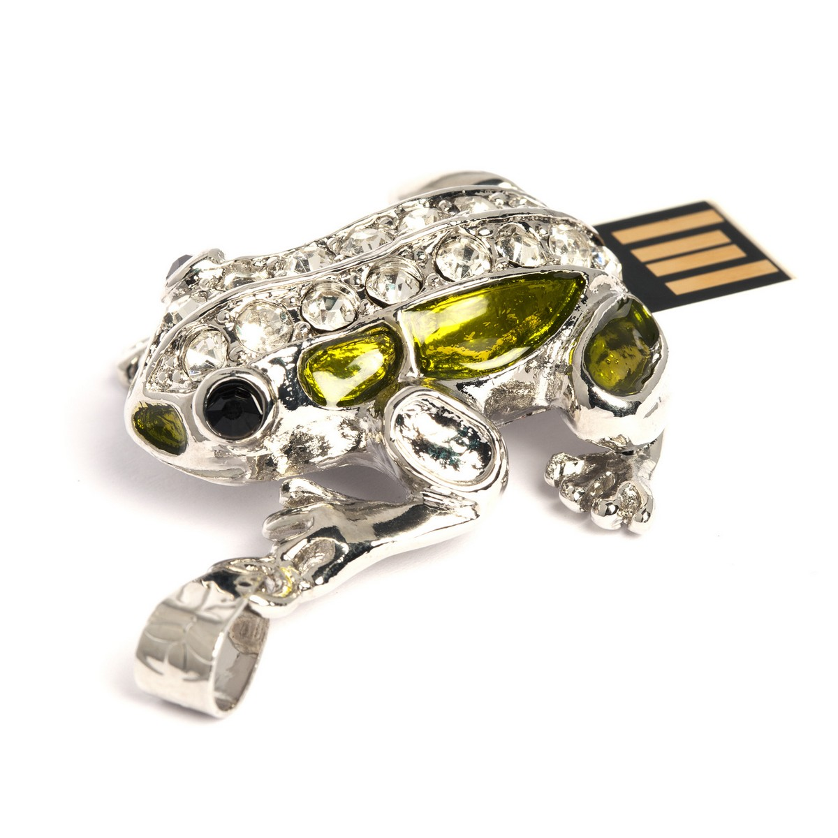Sparkly Frog USB Flash Drive