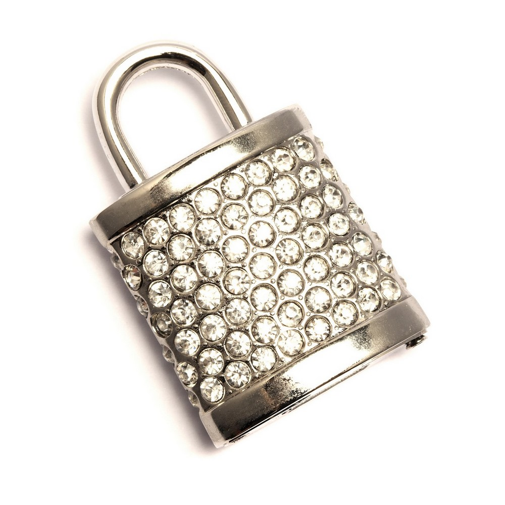 Sparkly Padlock USB Flash Drive